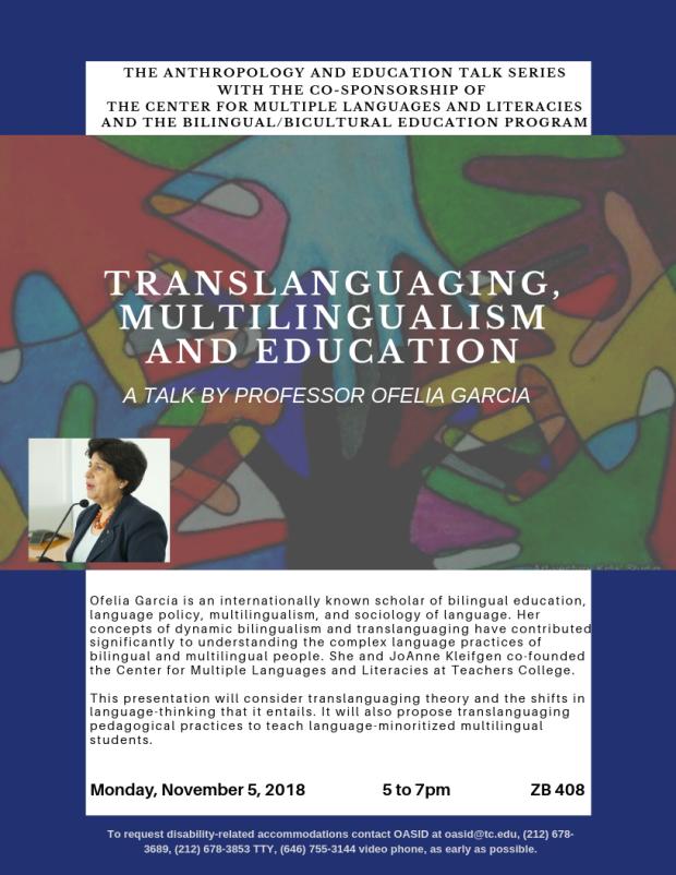 Ofelia García talk--1